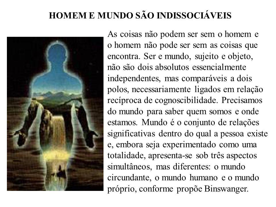 HOMEM E MUNDO SÃO INDISSOCIÁVEIS