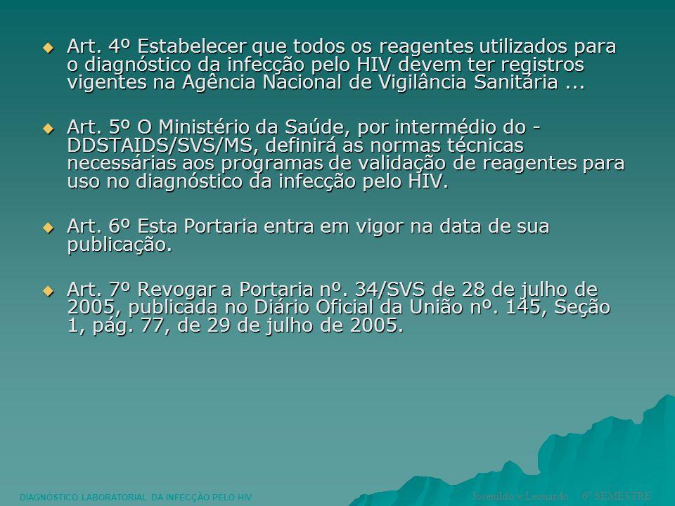 Art. 6º Esta Portaria entra em vigor na data de sua publicação.