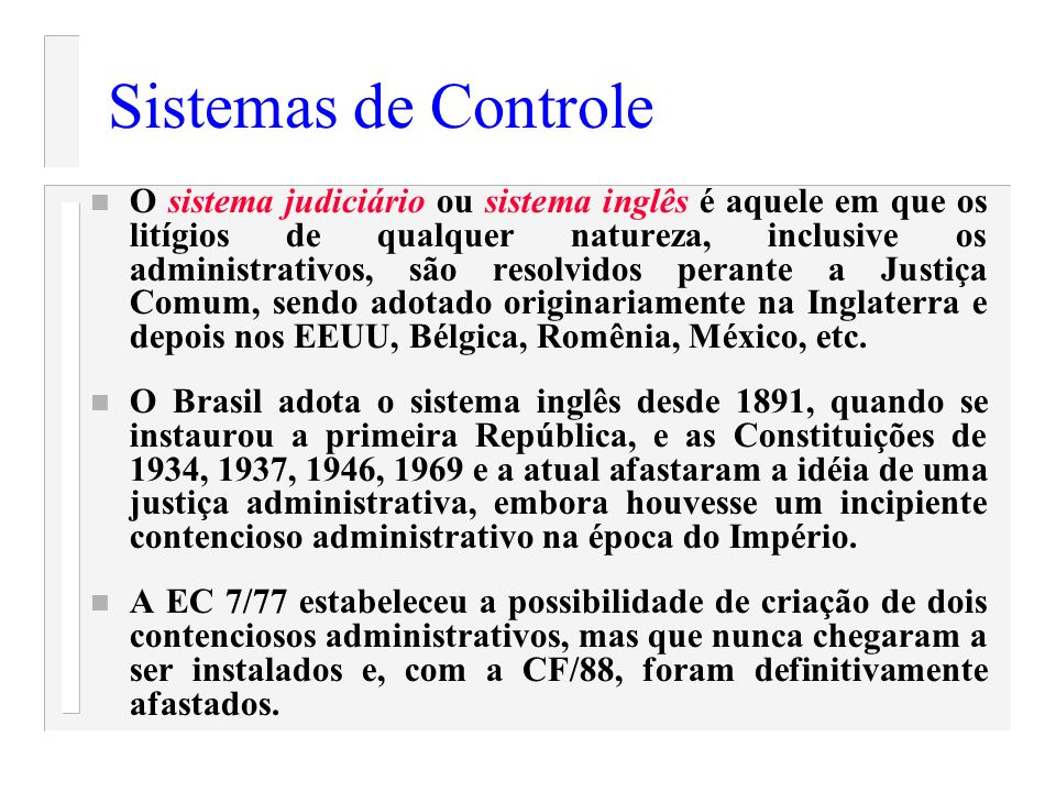 Sistemas de Controle