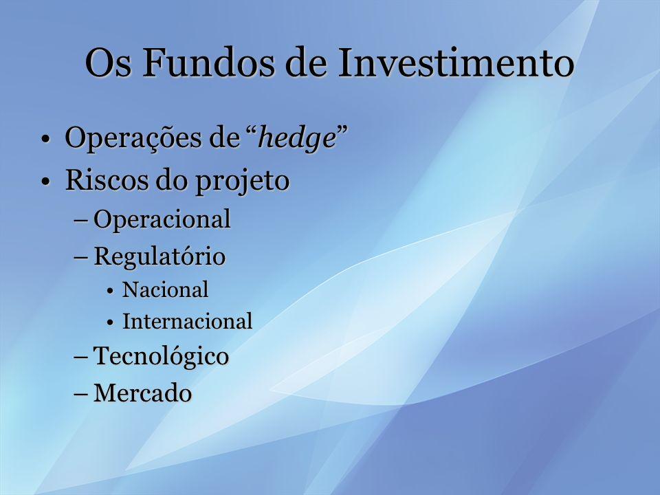 Os Fundos de Investimento