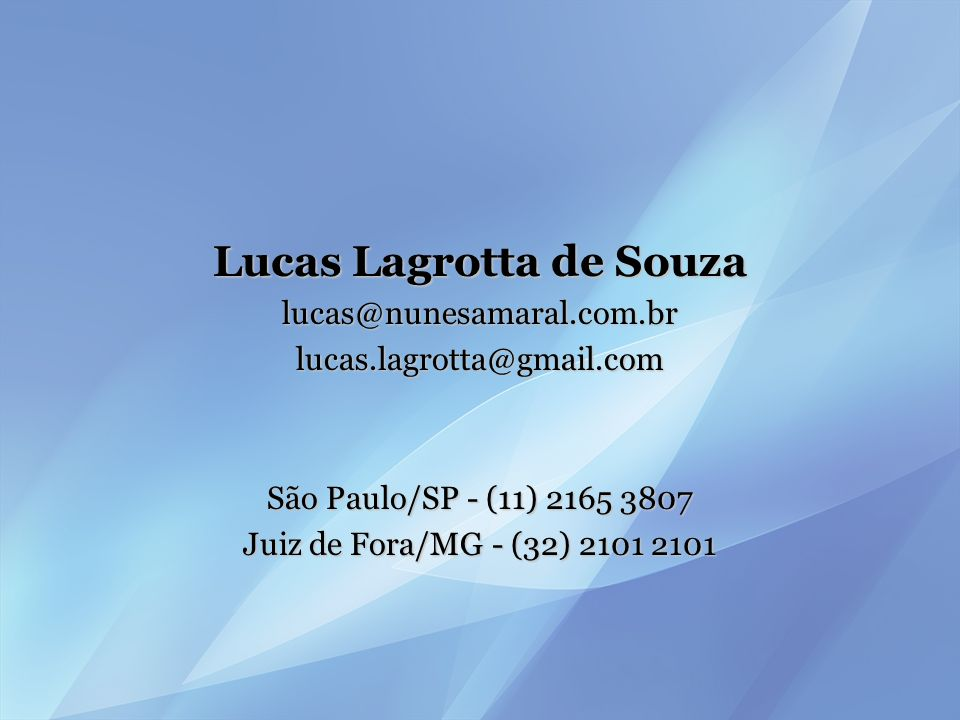 Lucas Lagrotta de Souza