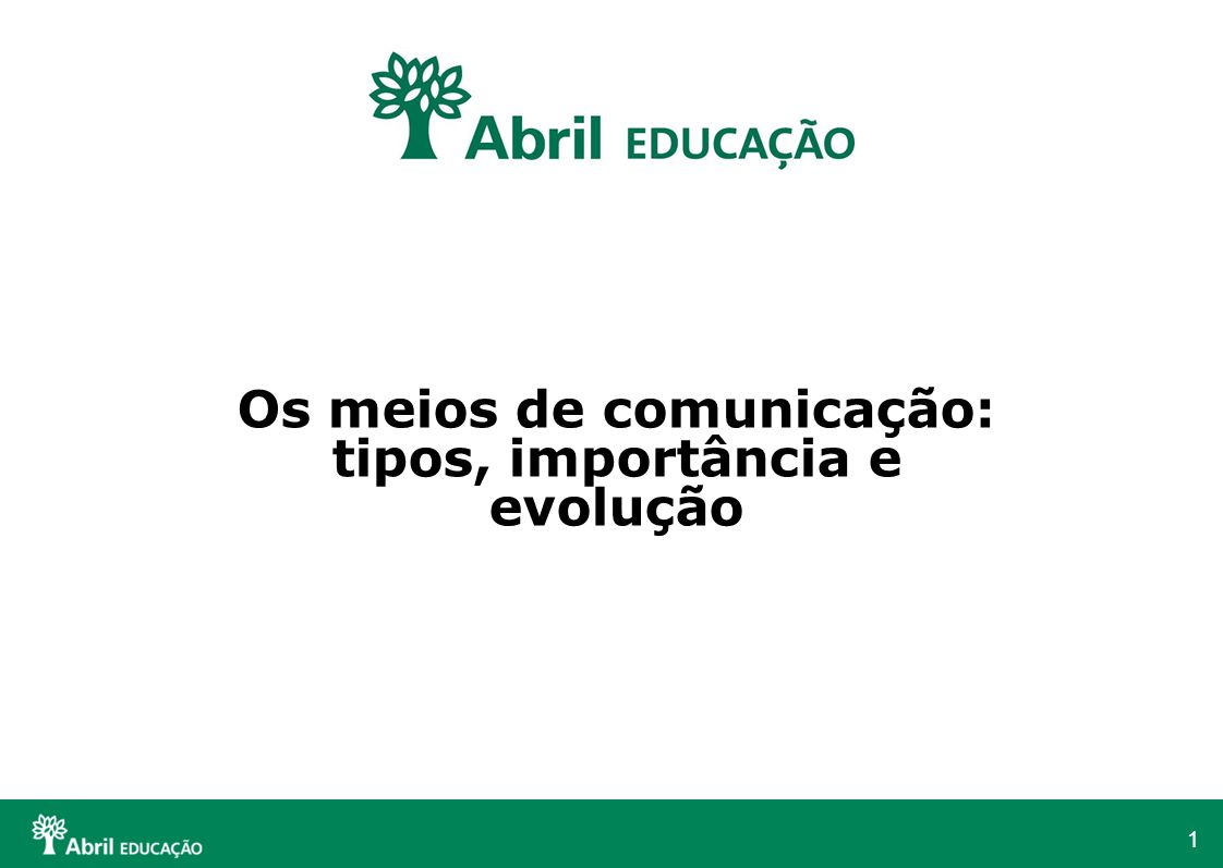 Os meios de comunicação: tipos, importância e evolução