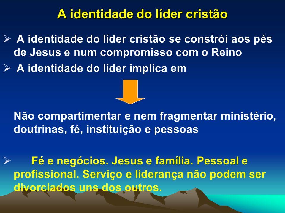 A identidade do líder cristão