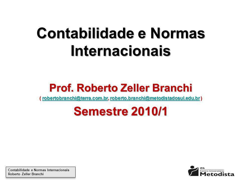 Contabilidade e Normas Internacionais