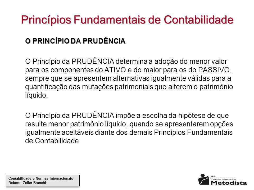 Princípios Fundamentais de Contabilidade