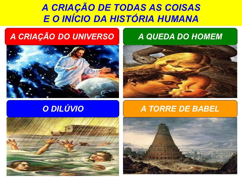 A CRIAÇÃO DE TODAS AS COISAS E O INÍCIO DA HISTÓRIA HUMANA