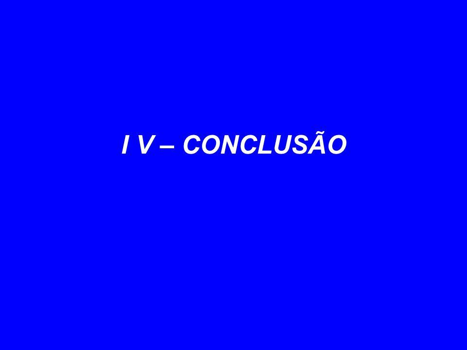 I V – CONCLUSÃO 15