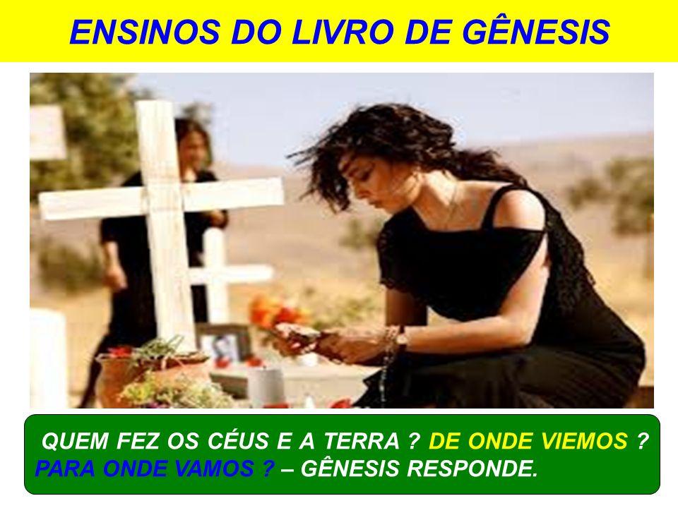 ENSINOS DO LIVRO DE GÊNESIS