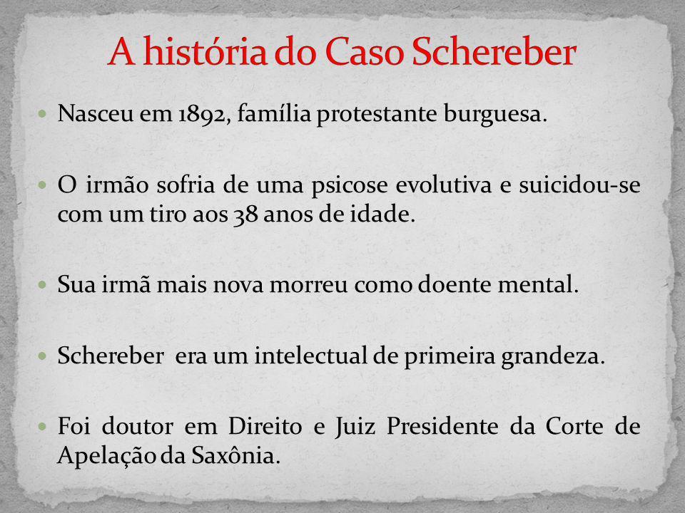 A história do Caso Schereber