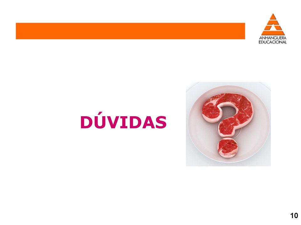DÚVIDAS 10