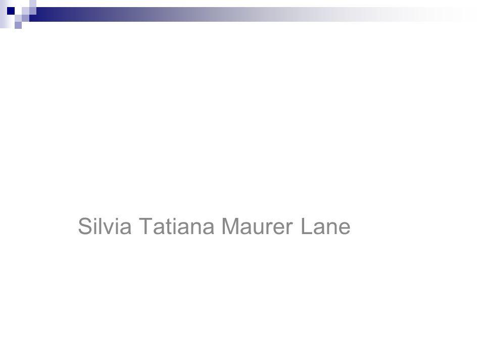 Silvia Tatiana Maurer Lane