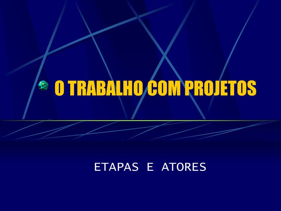 O TRABALHO COM PROJETOS