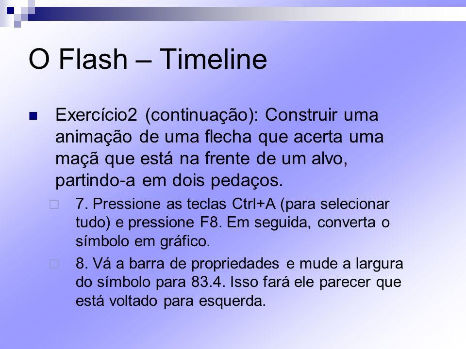 O Flash – Timeline
