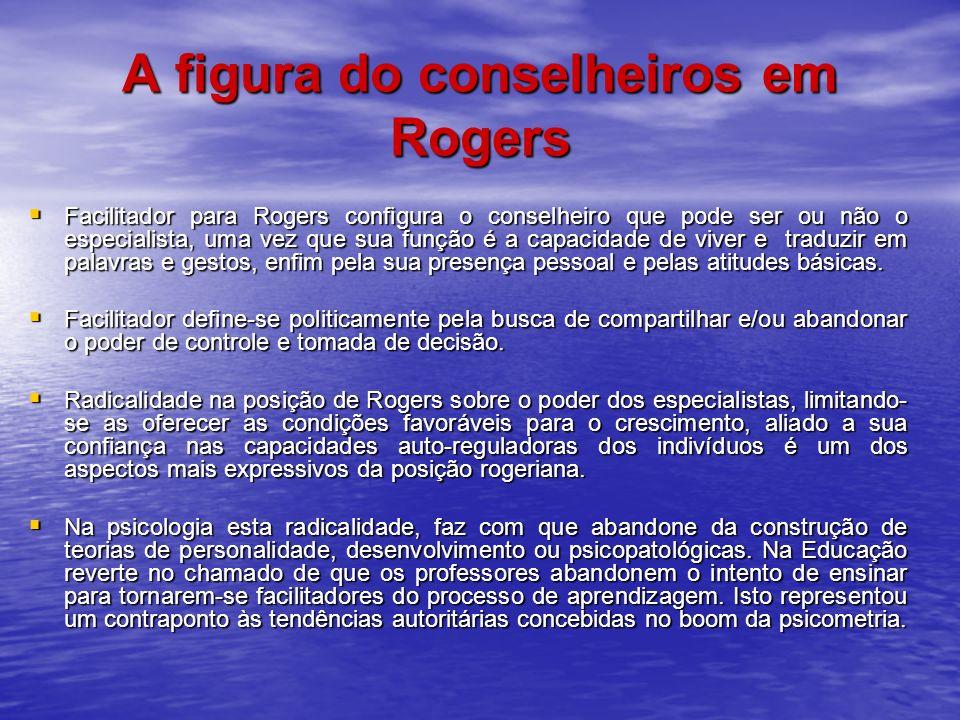 A figura do conselheiros em Rogers