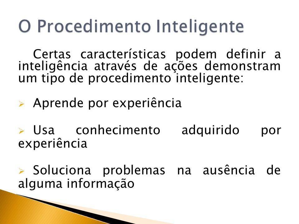 O Procedimento Inteligente