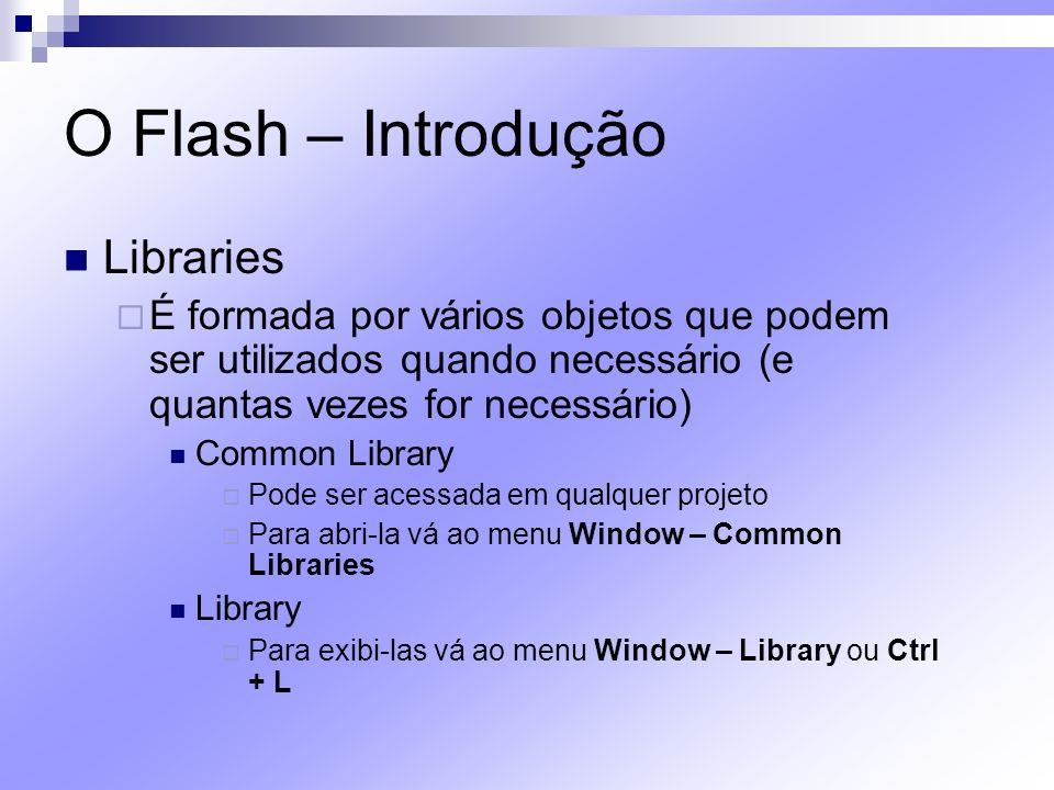 O Flash – Introdução Libraries