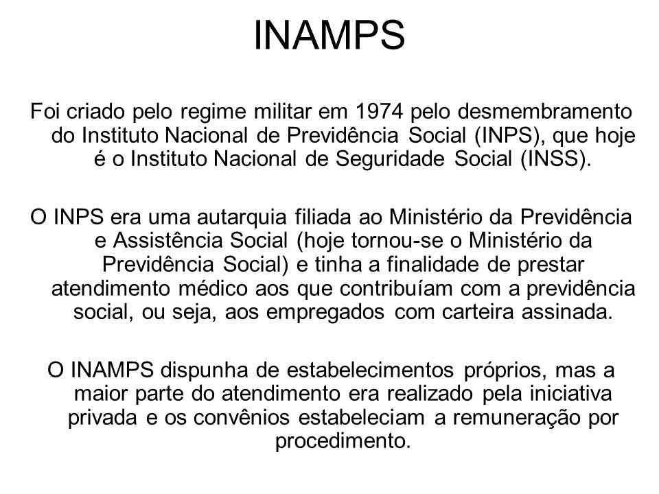 INAMPS