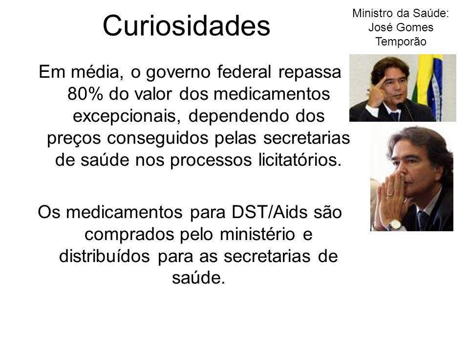 Ministro da Saúde: José Gomes Temporão