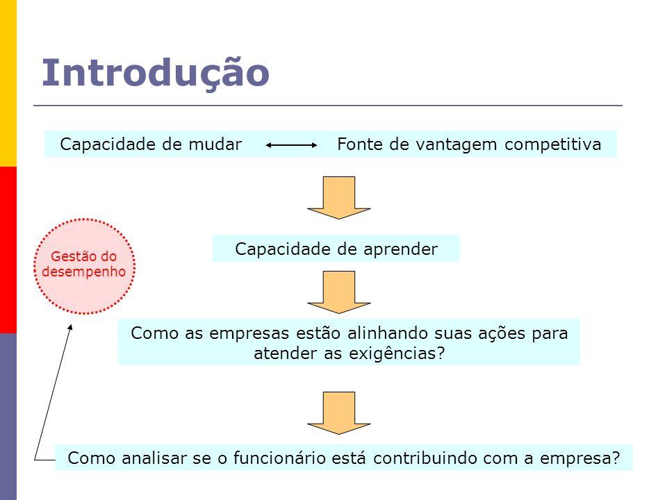 Introdução Capacidade de mudar Fonte de vantagem competitiva