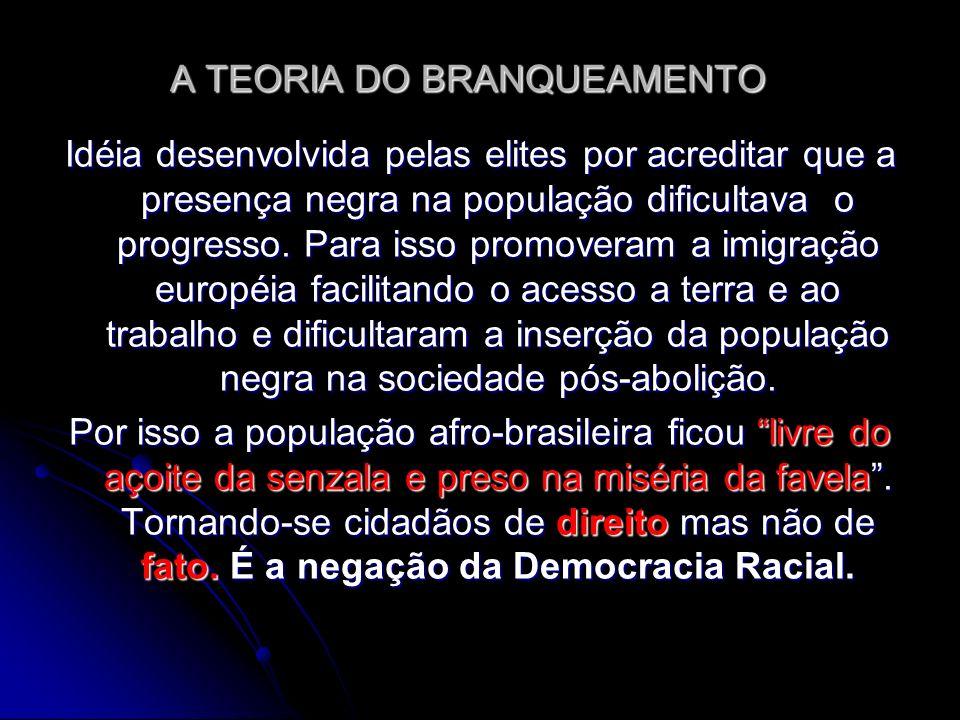 A TEORIA DO BRANQUEAMENTO
