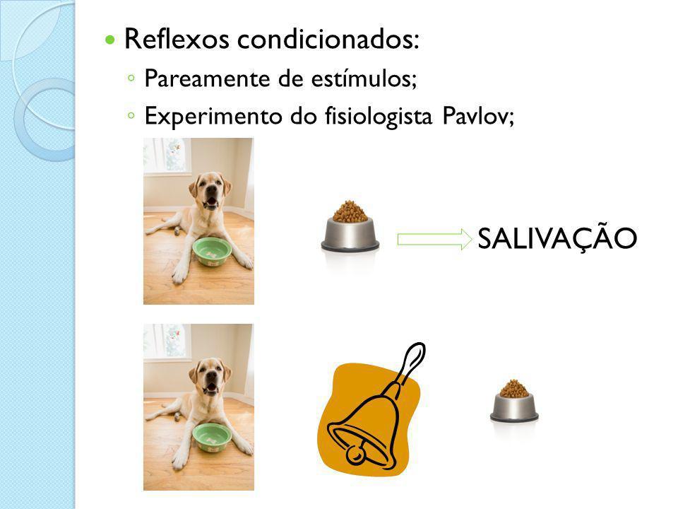Reflexos condicionados: