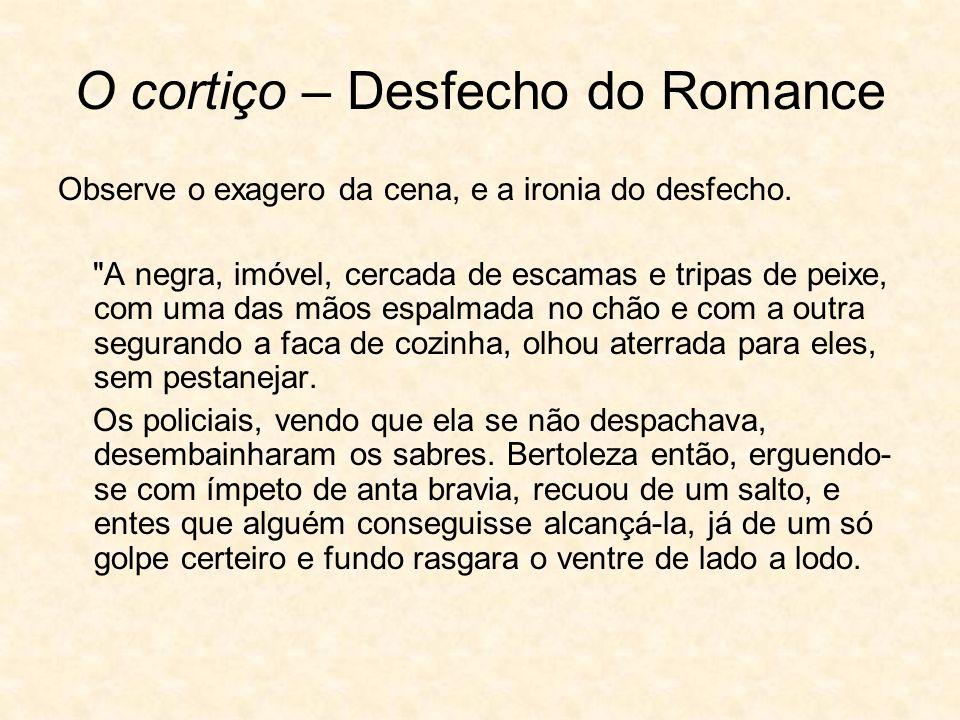 O cortiço – Desfecho do Romance