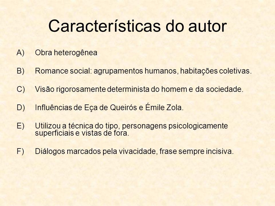 Características do autor
