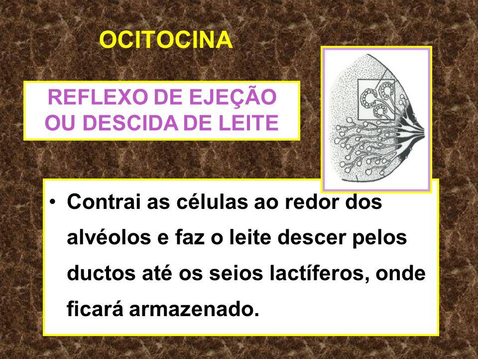 REFLEXO DE EJEÇÃO OU DESCIDA DE LEITE