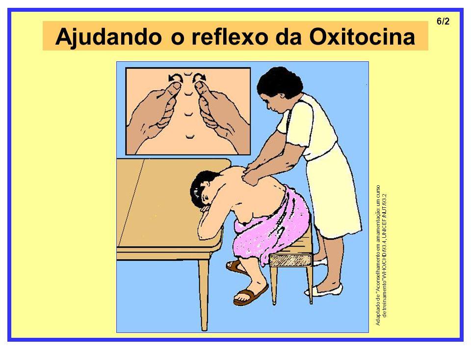 Ajudando o reflexo da Oxitocina