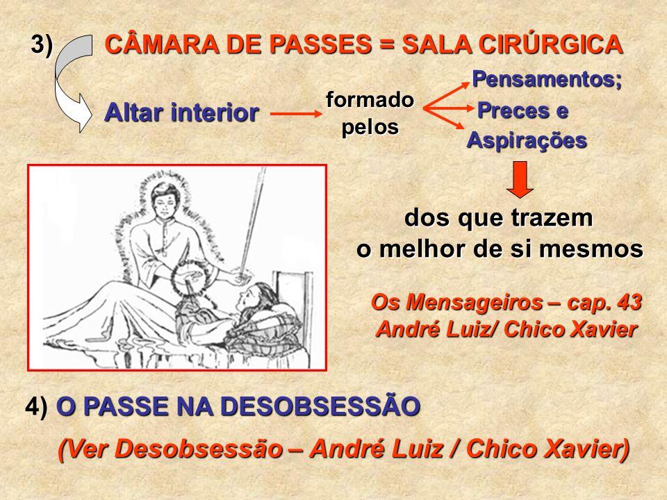Os Mensageiros – cap. 43 André Luiz/ Chico Xavier
