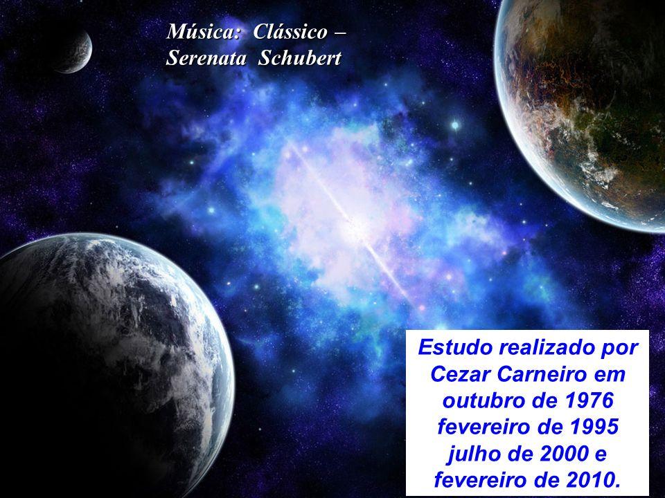 Música: Clássico – Serenata Schubert. Estudo realizado por. Cezar Carneiro em. outubro de 1976.