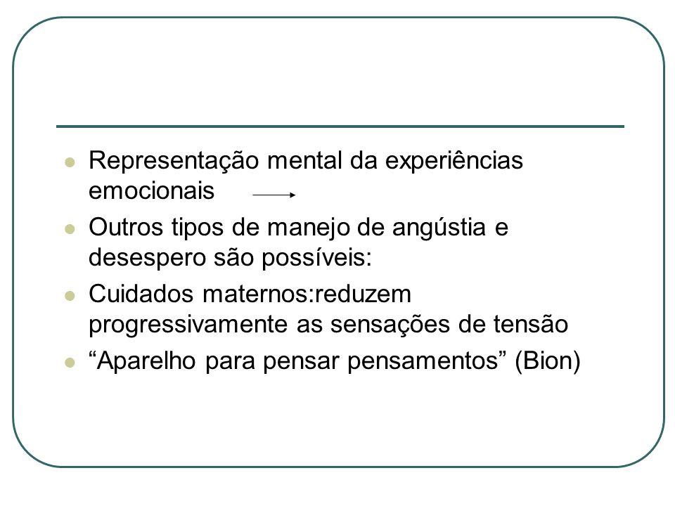 Representação mental da experiências emocionais