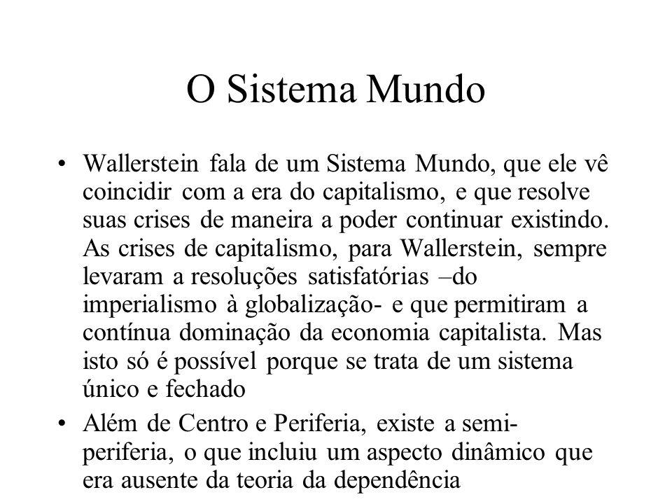 O Sistema Mundo