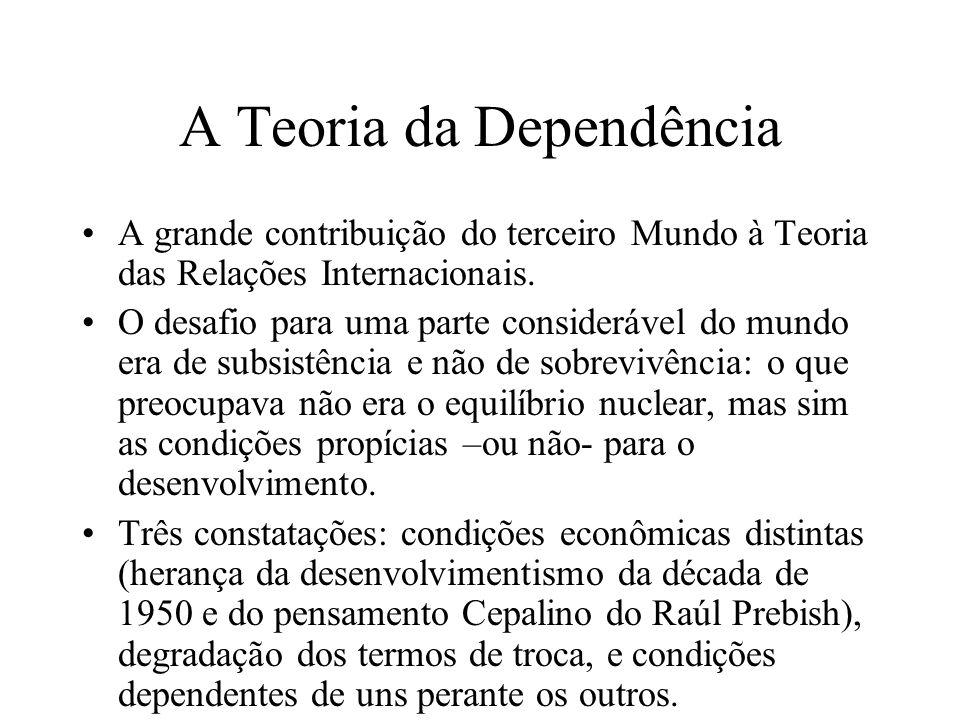 A Teoria da Dependência
