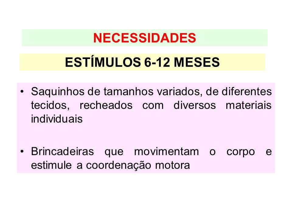NECESSIDADES ESTÍMULOS 6-12 MESES