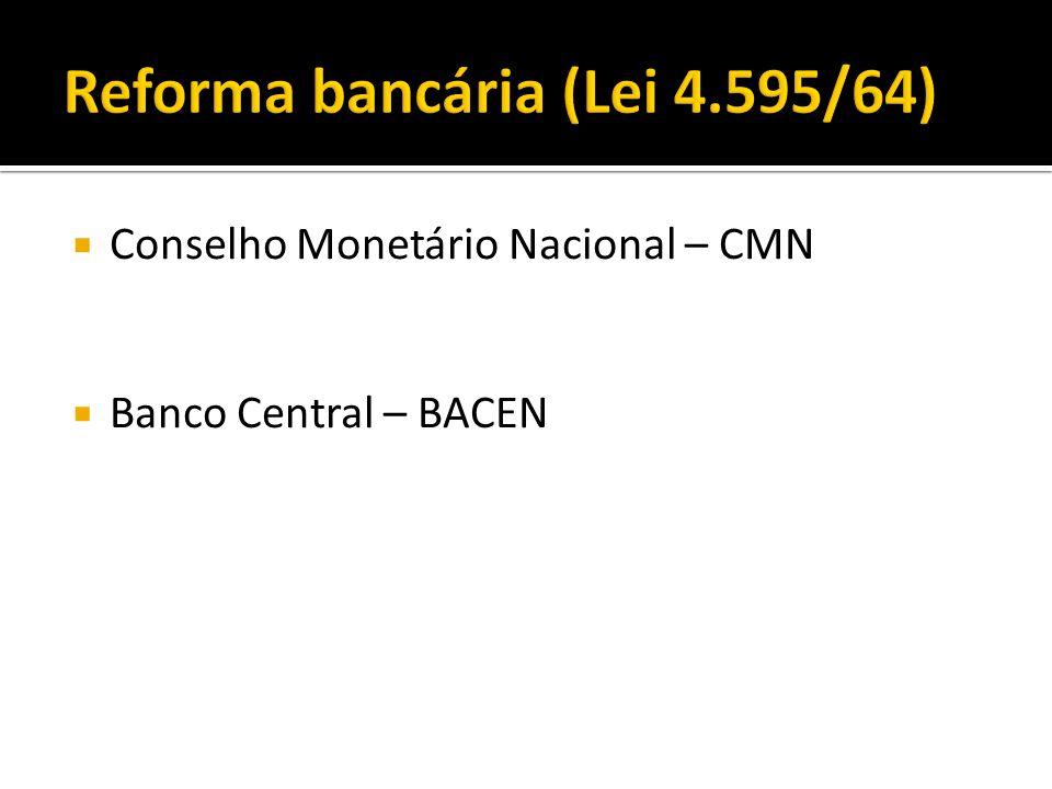 Reforma bancária (Lei 4.595/64)