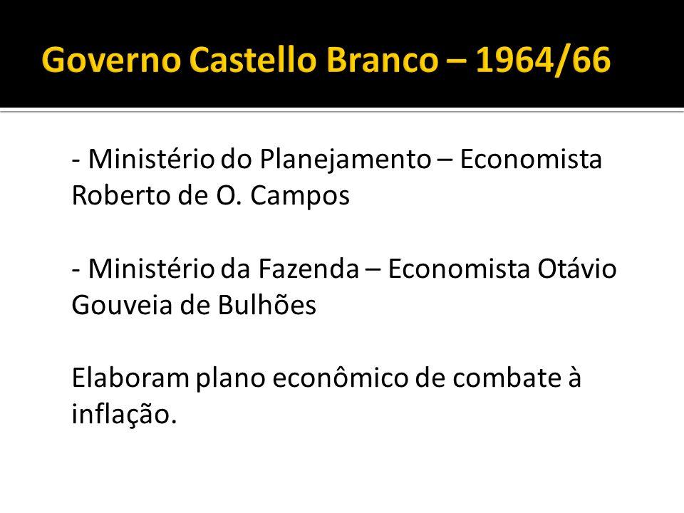Governo Castello Branco – 1964/66