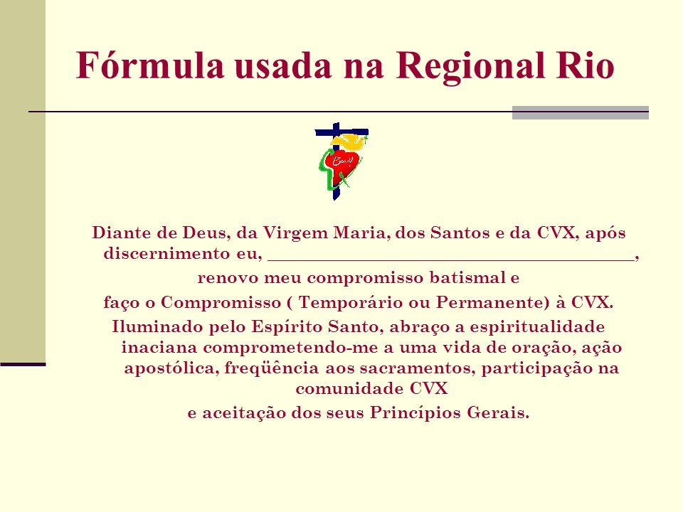 Fórmula usada na Regional Rio