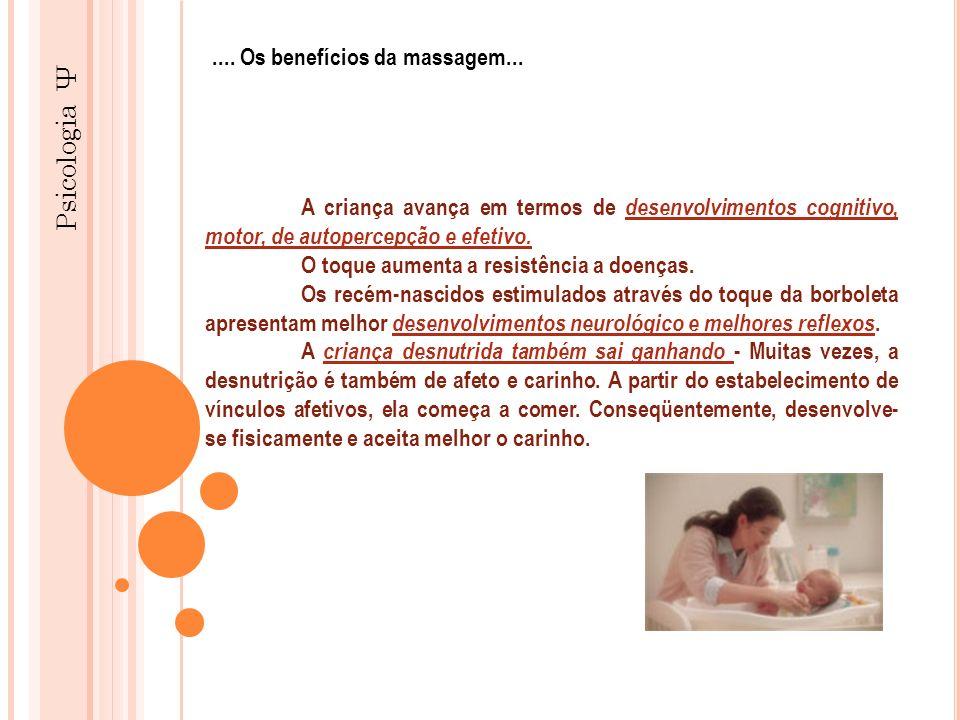Psicologia Ψ .... Os benefícios da massagem...