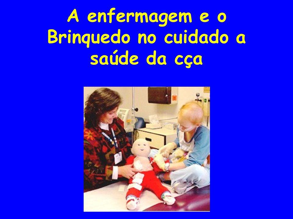 A enfermagem e o Brinquedo no cuidado a saúde da cça
