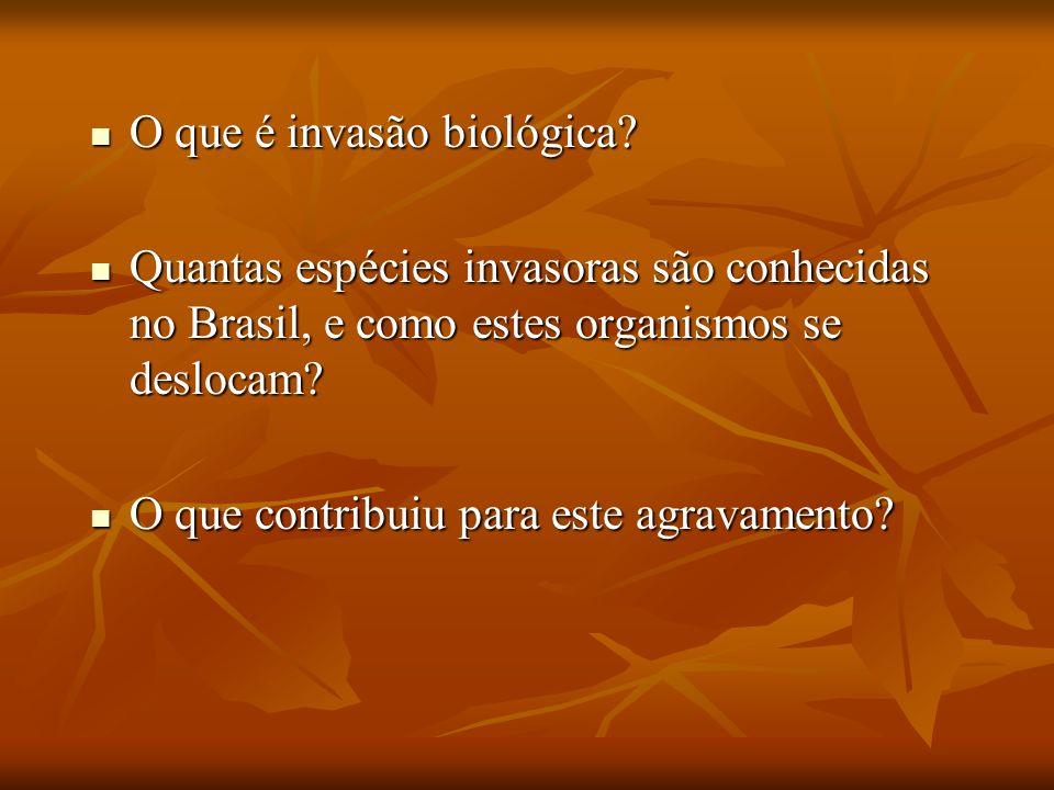 O que é invasão biológica