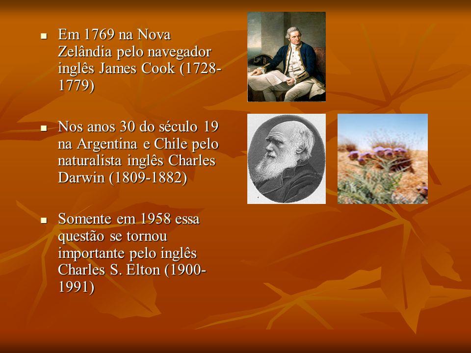 Em 1769 na Nova Zelândia pelo navegador inglês James Cook (1728-1779)