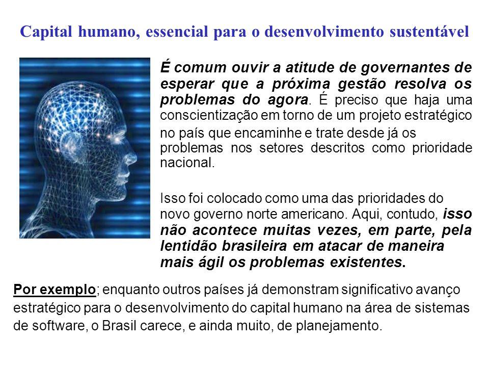 Capital humano, essencial para o desenvolvimento sustentável