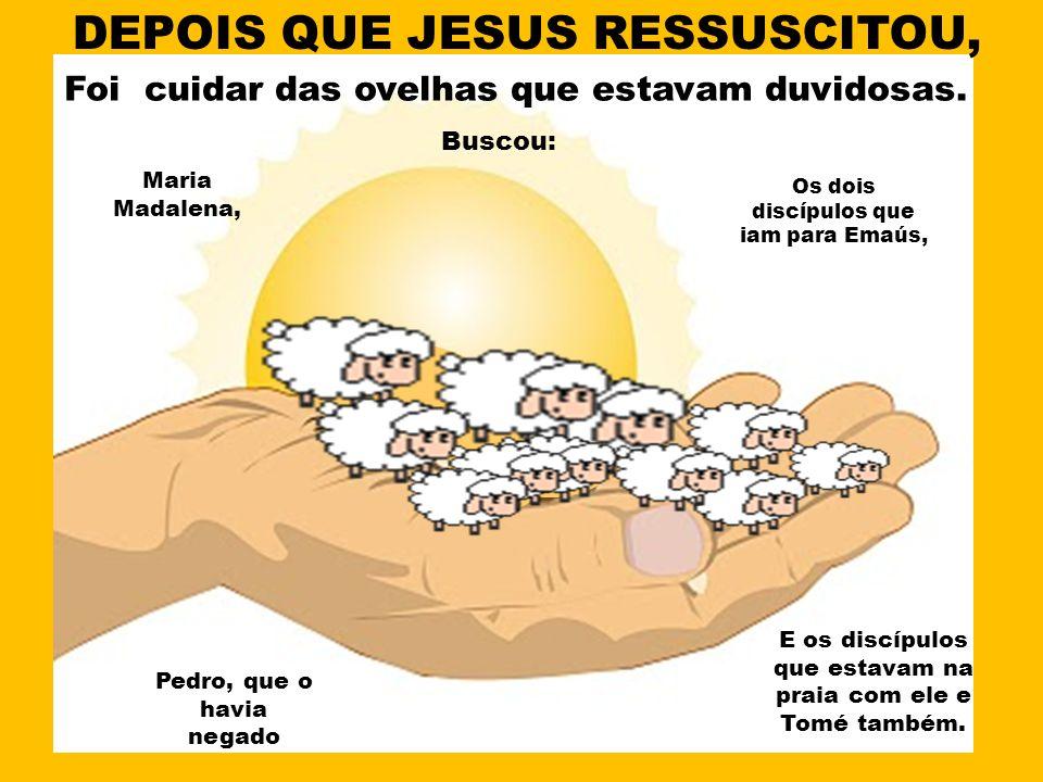 DEPOIS QUE JESUS RESSUSCITOU,