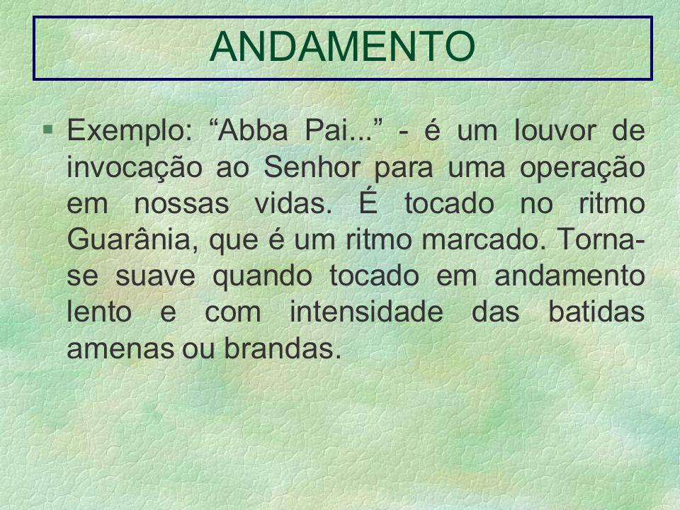 ANDAMENTO