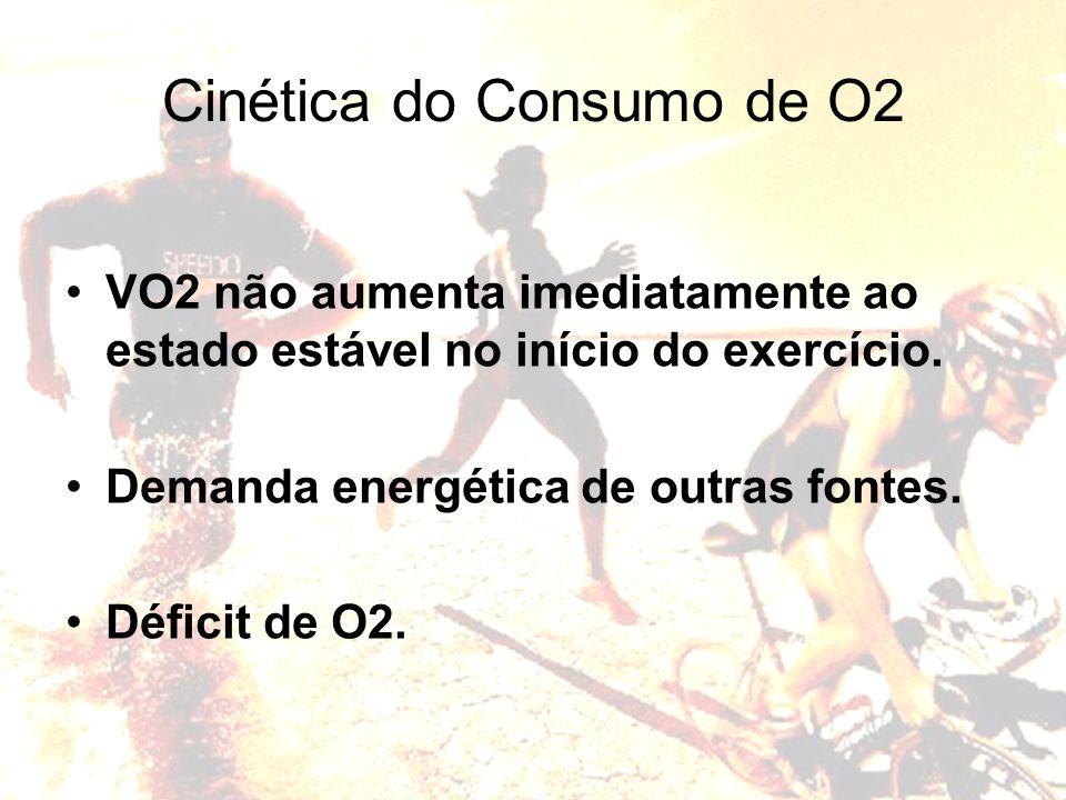 Cinética do Consumo de O2