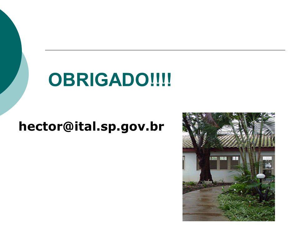 OBRIGADO!!!! hector@ital.sp.gov.br
