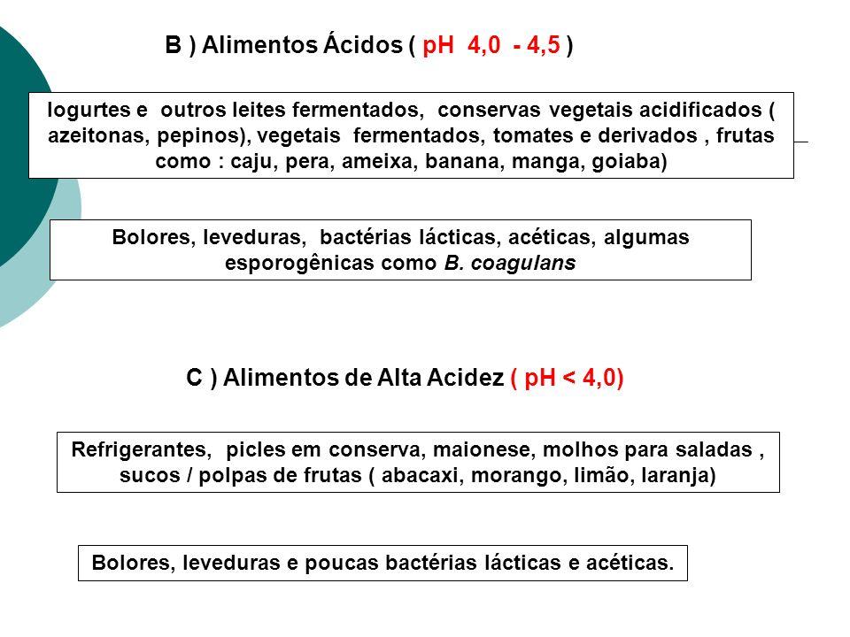 Bolores, leveduras e poucas bactérias lácticas e acéticas.