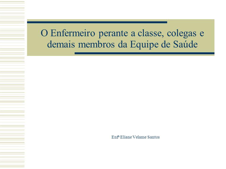 Enfª Eliane Velame Santos