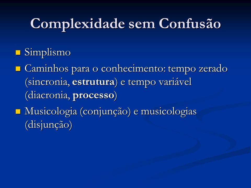 Complexidade sem Confusão